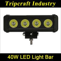 SUPER BRIGHT! 40W OFFROAD LED LIGHT BAR car assessories mini cooper