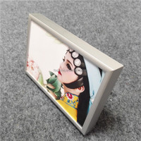 standing metal photo frame, silve sex girl photo frames