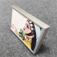 standing metal photo frame, silve sex girl photo frames