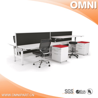 Office Furniture For Tall People height adjustable desk legs
