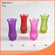 Design hot-sale lead free glass vase