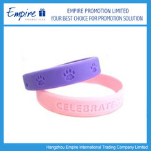 Hot Sale Promotional Silicone Bracelet Wrist Band