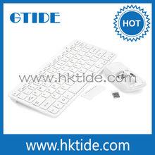 2015 Alibaba most popular stylish mini wireless mouse keyboard combo