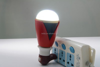 mini bluetooth speaker with bulb,Play music and the light changes by the rhythm