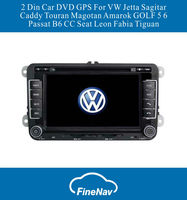 7inch 2 Din Car DVD GPS For VW Jetta Sagitar Caddy Touran Magotan Amarok GOLF 5 6 Passat B6 CC Seat Leon Fabia Tiguan