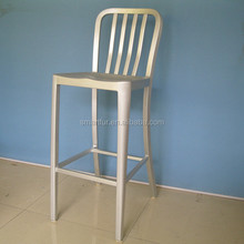 Aluminum furniture with arm metal chair