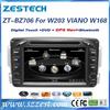 ZESTECH touch screen dvd/gps/DDR256/RDS/3G/1080P, for mercedes benz c-class w203 car dvd player