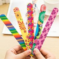 OEM Fashion beauty NailFile , OEM Nail File and buffer for nail tools, custom print nail file
