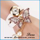 New Hot Sale Original de alta qualidade Mulheres de couro genuíno retro pulseira de relógio