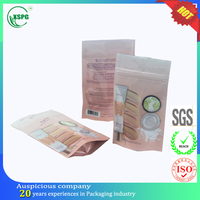 Plastic compound foil food date packaging bag