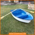 casco rígido barco de fibra de vidrio hecho en china