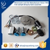 High Quality CD70 5kit motorcycle lock set,ignition switch, fuel tank cap for honda dio parts motorcycle parts