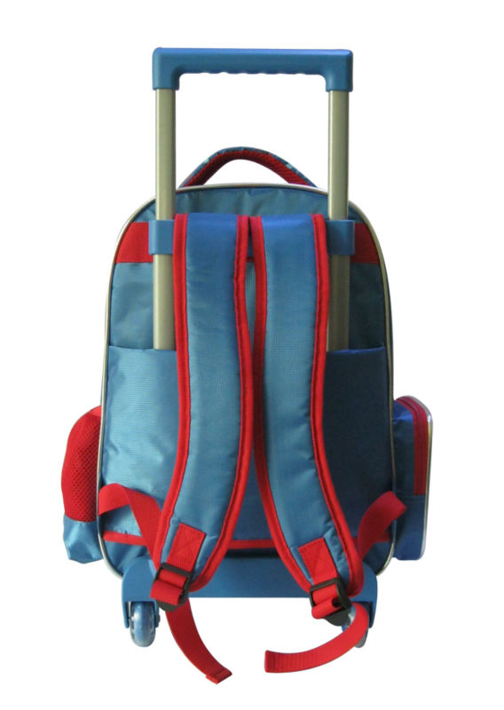 Kids School Trolley Bag Backpack with wheels for boys