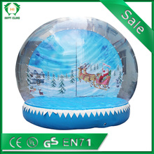 popular advertising christmas decorations selling in China inflatable Santa Claus
