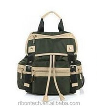 outdoor vintage Polyester hot style cheap school backpack bag