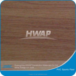 4.5MM 1.8M WIDTH PVC WOODEN PATTERN BASKETBALL COURTS FLOOR