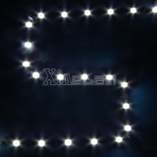 Incredible bends, curves and designs zigzag LED strip high lumens