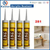 waterproof for roof acrylic sealant,water based,tubes