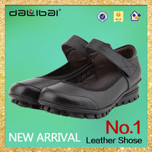 cheap brand new design leather flat buckle women casual shoes 2014