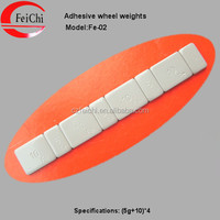 Hot sale Fe adhesive wheel balance weights 1/2oz =14g plastic coated wheel weights manufacture