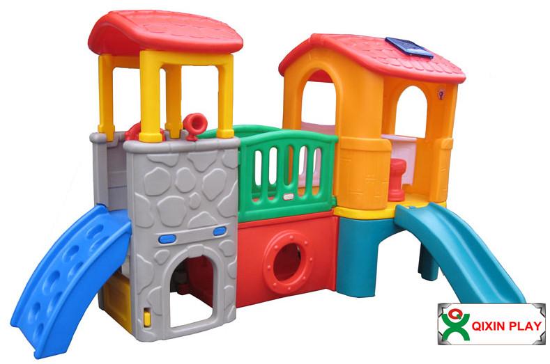 Mini de pl stico casa de juegos para ni os con silde little tikes teatro con diapositivas qx for Juegos para jardin nios