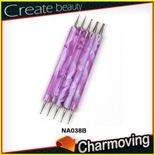 Wholesale Acrylic Handle Nail Brush With Optional Colors