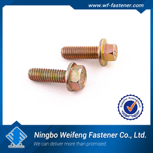 china haiyan factory manufactures suppliers Good Quality American Standard hex flange bolts bolt