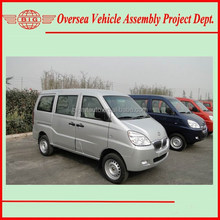 Euro IV Standard Gasoline Engine Super Cool A/C 8 Seats or 600 KG Loading Capacity Commercial Mini Vans