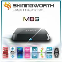 M8S amlogic S812 2G/8G quad-core google tv box 5g Wifi Google H.265