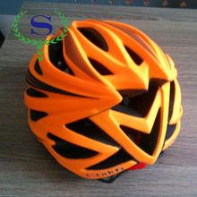 YSW Synthe New Model MTB Orange Cycling Bike Safety Helmet