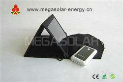 15W waterproof solar recharging kit for iphone, ipad,Android Smartphone: HTC,Samsung,Nokia ,Blackberry, more devices