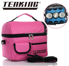 wholesale pink insulated beer cooler bag