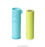 2600mAh Pocket Charger Tube slim power bank Mobile Portable Power Bank for gift order