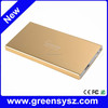 GE-Q8 credit card thin power bank 5000 mah polymer for smartphines