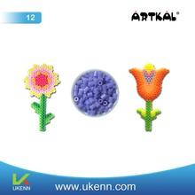 ARTKAL fuse beads M12 3mm 55 colors abt 6, 5000 beads/1kg/bag/color handmade education toy children craft kit