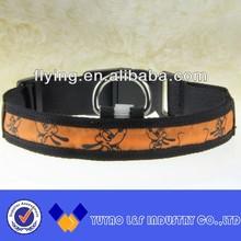 eco-friendly flashing led pet collar
