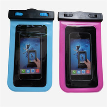 Generic waterproof pouch for iphone6 plus, waterproof duffel bag for hiking,swimming, waterproof case for cell phone