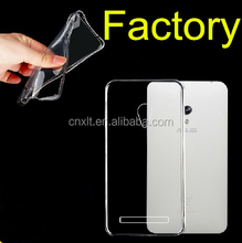 newest clear cover slim soft 0.6mm case for asus zenfone 5