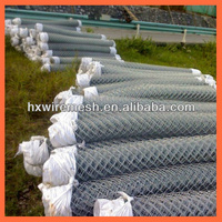 Hot sales diamond hole size chain link fence from china manufacturer / high quality wholesale vinyl coated chain link fence