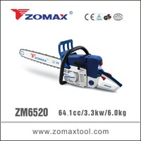 CE GS EUII echo chainsaw 64.1cc made by Zomax for green cutting pruning