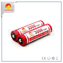 3200mAh rechargeable Mainifire ICR18650 Mainifire ICR26650 3.7V battery 3.7V flashlight batter/18650 rechargeable li-ion battery