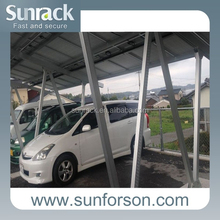 Solar PV Carport Mounting Support Mount