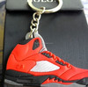 3D sneaker Keychain, customized promotional 3d pvc sneaker keychains, sneaker keychains wholesale