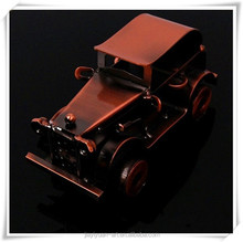 Antique Classical Metal Handmade Model Car Bronze Small Model Cars for sale