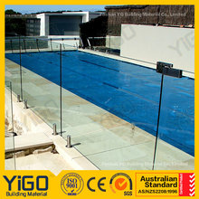 swimming swimming pool railing designs/glass fence panels for balcony