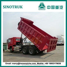 China HOWO 6X4 10 wheelers dump truck low price