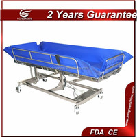 LG-STB001 Cheap price stainless steel shower bed disabled furniture