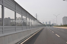 clear acrylic structural insulated panel with nylon wire
