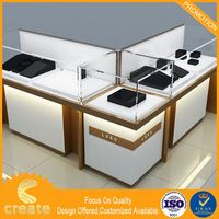 Newest Concept custom retail jewelry display cases rack jewelry display cabinet in china