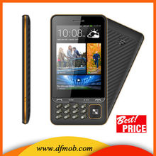 "3.5"" Touch Screen Bluetooth Quad-band Camera Spreadtrum GSM FM Dual Sim Card Qwerty Keyboard Mobile Phones Q200"